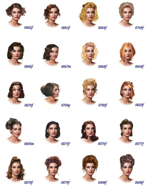 ApachiiSkyHair / Новые причёски от Апачи v1.6 - TES V