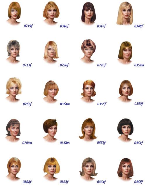 женские стрижки разные фото
